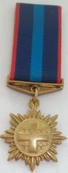 Медаль бронзовая восточная на колодке