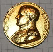 Памятная медаль Наполеон (копия)